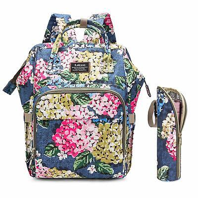 Baby Diaper Bag Backpack Water-Resistant Multi-Functional Nappy Bag for Mommy