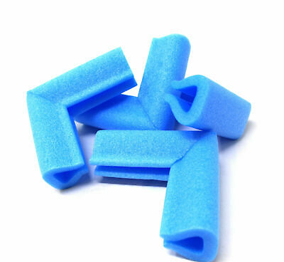 PICTURE FRAME CORNER PROTECTORS BLUE PE FOAM 15mm - 60mm BABY SAFETY GUARD EDGE