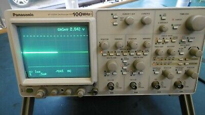 Panasonic Oscilloscope VP-5020A 100MHz. Good working order.