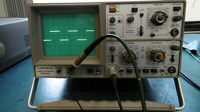 Hameg HM203-5 dual channel, 20 Mhz oscilloscope Good working order