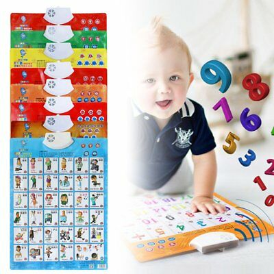 Sound Wall Chart Electronic Chart Multifunction Learning Educational Toys UI
