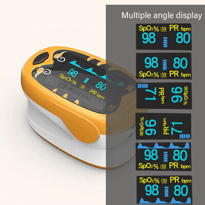 OLED Finger Pulsoximeter SPOS PR. + Alarm + Pulston Oxymeter S9O4