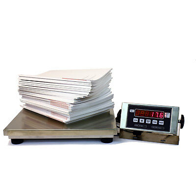 Large Bench Shipping Scale NTEP 500 Lb x 0.1 Pound Tree TSB-1416 Legal for Trade