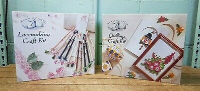 2 House of Crafts Lacemaking and Quilling Craft Kits B1