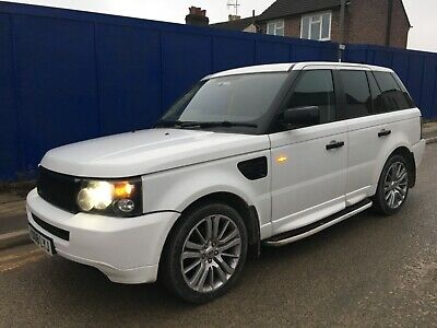 Range Rover Land Rover Sport TDV6 2008 Auto Damaged Salvage Repairable HPI CLEAR