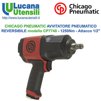 CHICAGO PNEUMATIC AVVITATORE PNEUMATICO REVERSIBILE modello CP7748 - 1250Nm 1/2""