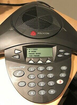 Polycom Soundstation 2W Wireless 1.9GHz(DECT) Conference Phone no base station