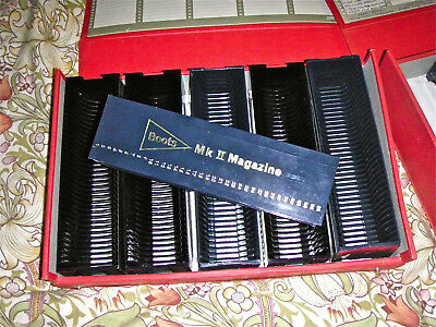 10 Boots Slide Magazines With Boxes. Will Work On Braun Paximat & Boots Machines