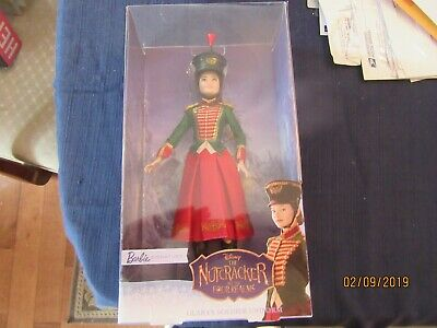 Barbie Doll Disney The Nutcracker and the Four Realms Clara's Soldier Uniform