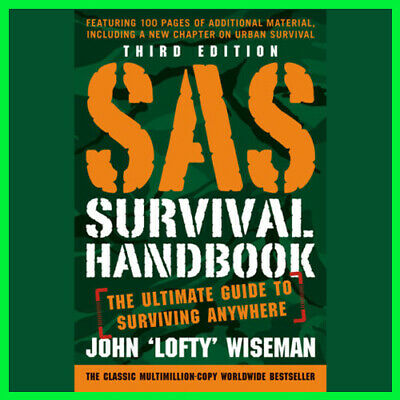 SAS Survival Handbook, Third Edition by John (E-book) {PDF} ⚡Fast Delivery(10s)⚡