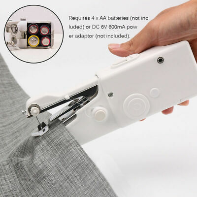 High Quality Hand Sewing Machine Mini Cordless Portable Electric Stitch Fabric