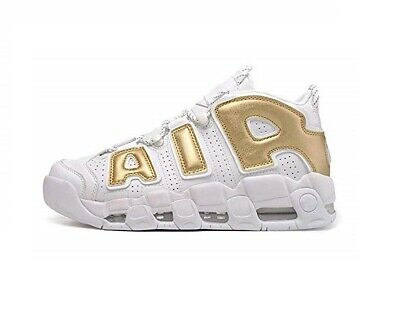 nike air more uptempo donna oro