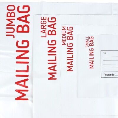 SMALL-EXTRA LARGE MAILING BAGS Postage Parcel Packing Water Resistant Self Seal