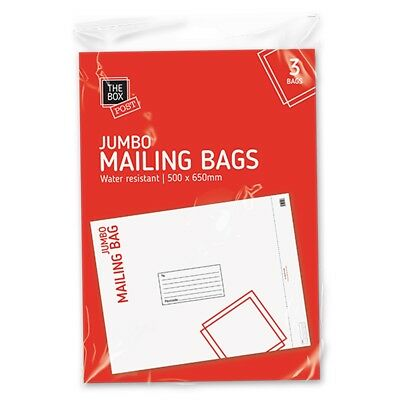 JUMBO MAILING BAGS 50cm x 65cm Large Postage Packet Post Mail Self Sealing Poly