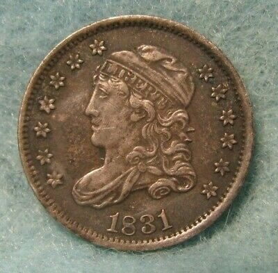 1831 CAPPED BUST SILVER HALF DIME CHOICE XF++ * US Coin #3304