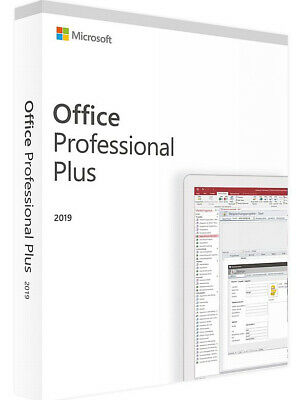 Microsoft Office 2019 Pro Plus 32/64Bit Download License For 1xPC - Serial Key