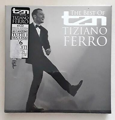 Tiziano Ferro TZNThe Best of (Deluxe Edition) 4 CD Deluxe Edition SEALED