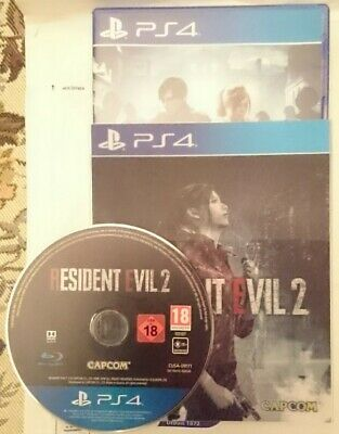 Resident Evil 2 PS4 comme neuf + fourreau lenticulaire