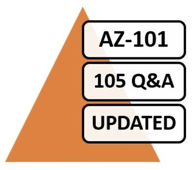 AZ-101, 2019 Microsoft Azure 101, 88 Q&A, PDF FILE! Labs Included!