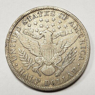 1903 50c SILVER BARBER HALF DOLLAR LOT#H623