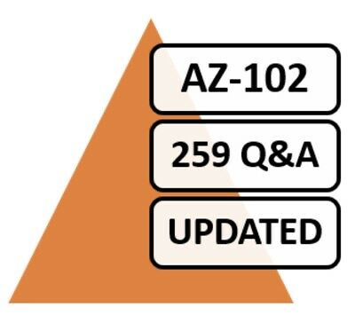 AZ-102; 195 Q&A, PDF FILE!, Certification Transition Exam 2019!!