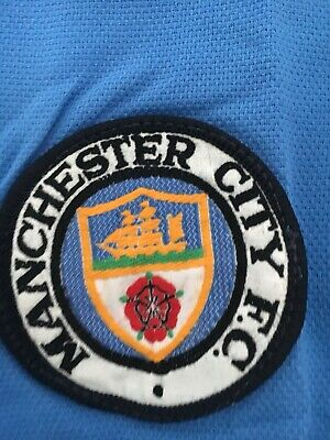 RARE Vintage Manchester City Football Shirt From The 1970s In Original Packaging