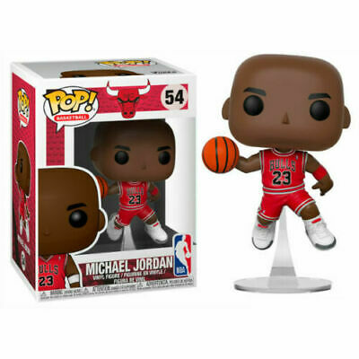 Funko POP !  Michael Jordan Jump #54 Chicago Bulls -  IN STOCK NOW!!!