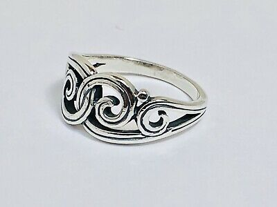 James Avery Sterling Princess Crown Ring 925 Sterling Silver Sz