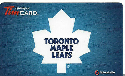 Tim Hortons Nhl Reloadable Gift Card Toronto Maple Leafs