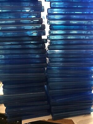 25 Empty Double sided Bluray/dvd Cases Lot. Free-ship. Replacement Case