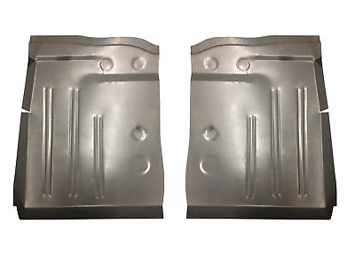 1953 1954 Pontiac Chevy 150 & 210 Series, Bel Air, DeLuxe Front Floor Pans Pair