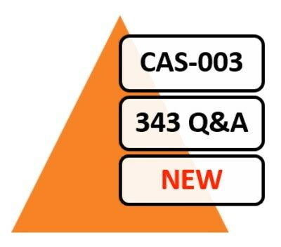 CAS-003 (CompTIA Advanced Security Practitioner CASP)), 345 Q&A, PDF FILE!