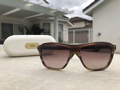 068ecbc3cbb2 Used Chole Sunglasses CL2184 C03 - Brown - Made in France! Great Condition!