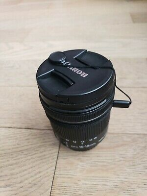CANON ZOOM LENS EF-S 10-18mm f/4.5-5.6 IS STM W/ END CAPS *TESTED WORKING*