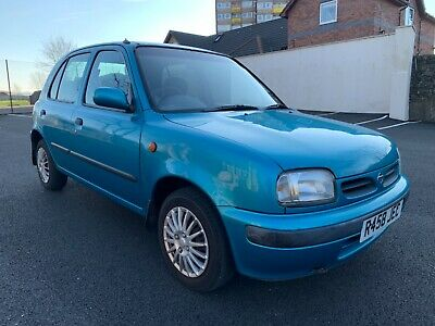 1998 Nissan Micra Slx 1.3  Blue Petrol 5 Door Low Mileage 62K
