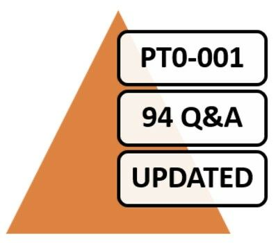 PT0-001 (CompTIA PenTest+) Exam 94 Q&A, PDF FILE!