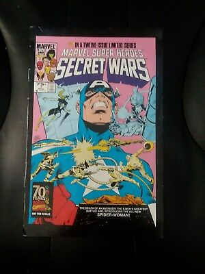 Marvel Super Heroes Secret Wars #7 Comic Book - All New Spider-Woman