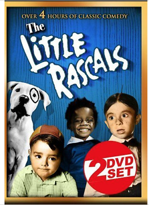 NEW The Little Rascals - Over 4 Hours (2 Disc Set) DVD Brand New Sealed