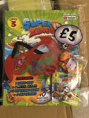 Magicbox Superzings Series 3 Mega & Starter Pack New & Exclusive