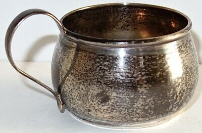 EARLY Antique WEBSTER Child's STERLING SILVER Baby CUP MUG~26 GRAMS~LOT #1! NR!