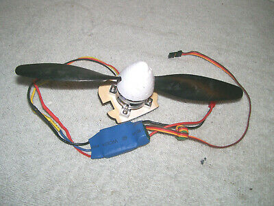 "Tex Brushless Motor KV1620, 18A ESC, and 7.5"" prop Combo RC Airplane"