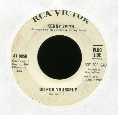 KENNY SMITH Go For Yourself on RCA Promo Northern Soul 45 Hear