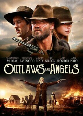 Outlaws and Angels (DVD, 2016, Widescreen) Factory Sealed [New]