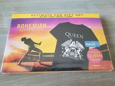 Queen Bohemian Rhapsody Movie- Blu-Ray Dvd Digital Gift Set - Walmart - Sold Out