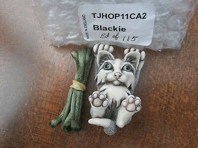 Harmony Kingdom Blackie Cat 2011 HOP Fire & ICE Event Excl LE115 SGN RARE