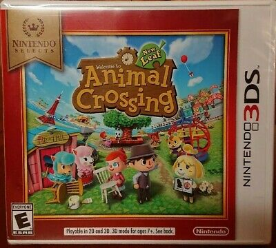 Animal Crossing: New Leaf Nintendo Selects Nintendo 3DS Brand New Factory Sealed