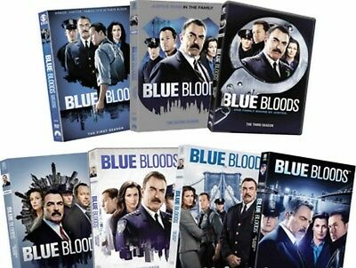 BLUE BLOODS DVD ALL Season 1-8 Complete TV Series DVD Set Collection1 2 3 45678!