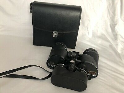 Cameras & Photo Vintage Sears Discoverer Zoom Binoculars Model 473.25850 8x-17x40mm With Case