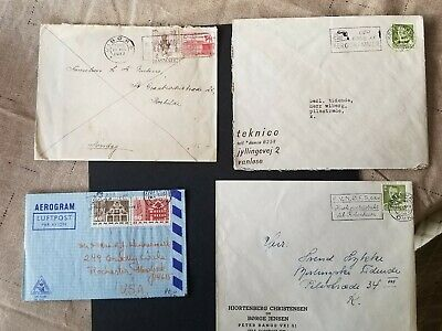 Denmark, Danmark lot of 4 different covers/cards II