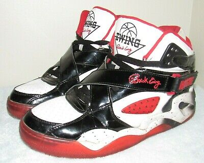big sale 787f6 f9149 Patrick Ewing ROGUE Red White Black Basketball Shoes Men s sz. 11